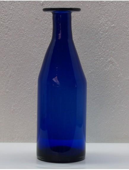 Florero Antiguo Alto Cobalto