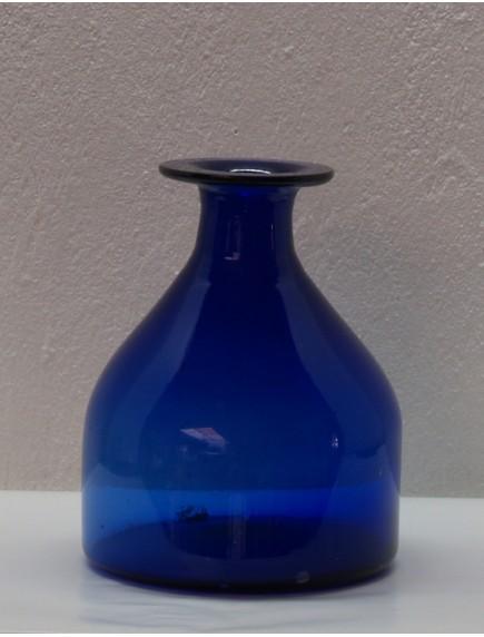 Florero Antiguo Chaparro Cobalto