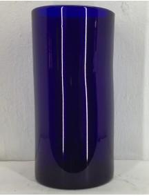 Florero Cilindro 20 Diam x 40 Cm H Cobalto