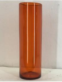 Cilindro 12 Diam X 40 Cm. H Naranja