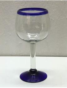 Copa Agua Esférica  Filo Cobalto