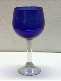 Copa Agua Esferica  Cobalto