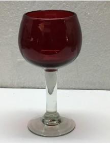 Copa Agua Esferica  Roja