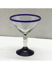 Copa Martini Filo cobalto (MÍNIMO 50 PIEZAS)