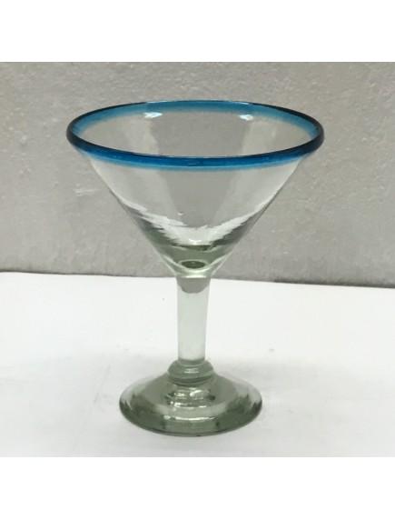 Copa Martini Filo Aguamarina (Mínimo 50 Piezas)
