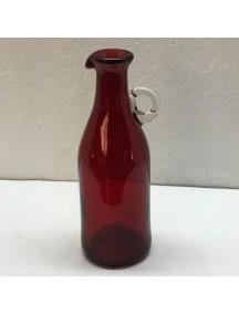 Botella Florero Vintage Rojo
