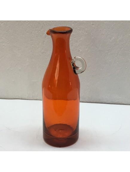 Botella Florero Vintage Naranja (Mínimo 50 Piezas)