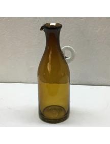 Botella Florero Vintage Ambar (Mínimo 50 Piezas)