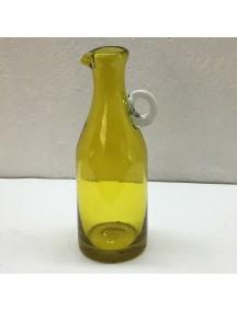 Botella Florero Vintage Amarillo (Mínimo 50 Piezas)
