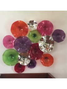 Platos decorativos de pared beautiful comedor con mueble en la pared y platos decorativos with - Platos decorativos pared ...