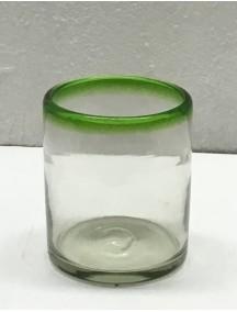 Vaso Rocas Filo Verde (Mínimo 50 Piezas)