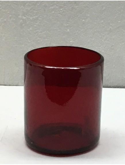 Vaso Rocas Rojo