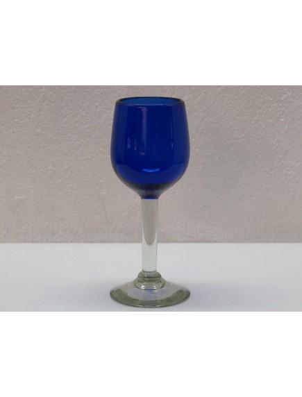 Copa Agua Goblet Cobalto