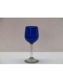 Copa Vino Goblet Cobalto