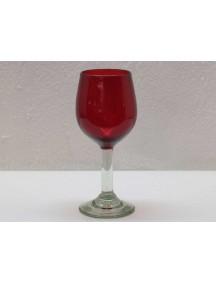 Copa Agua Goblet Roja