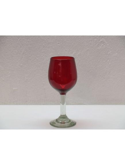 Copa Vino Goblet Roja