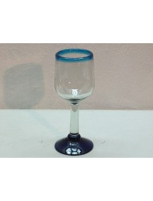 Copa Agua Goblet Filo Aguamarina (Mínimo 50 Piezas)