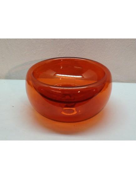Ensaladera/ Maceta Burbuja Naranja