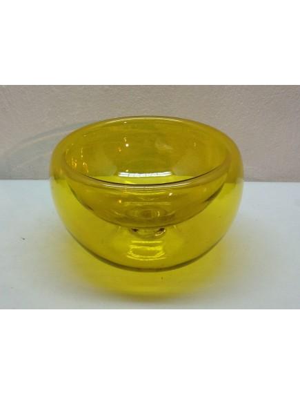 Ensaladera/ Maceta Burbuja Amarilla