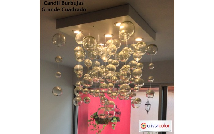 candil burbujas