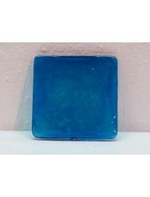 Azulejo Cuadrado 6  Aguamarina