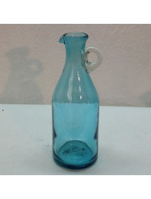 Botella Florero Vintage Aguamarina