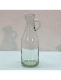 Botella Florero Vintage Cristal