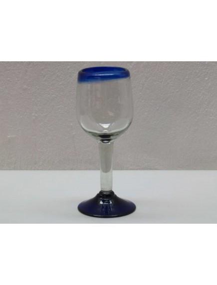 Copa Agua Goblet Filo Cobalto