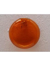 Florero Burbuja Pared Naranja