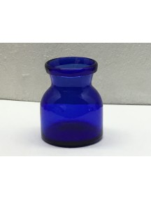 Botella Florero Lechera Cobalto