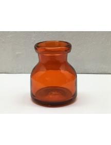 Botella Florero Lechera Naranja