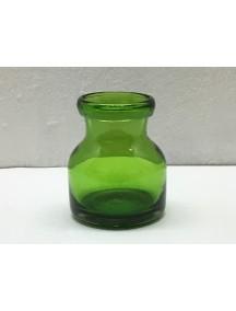 Botella Florero Lechera Verde