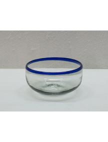 Bowl Mediano Filo Cobalto (Mínimo 50 Piezas)