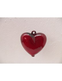 Corazon Colgante Mini Rojo