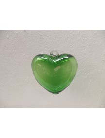Corazon Colgante Mini Verde