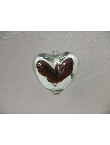Corazon Colgante Mini Plata