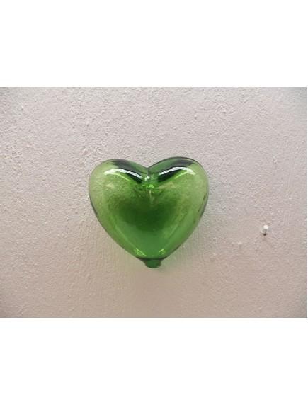 Corazon Pared Mediano Verde