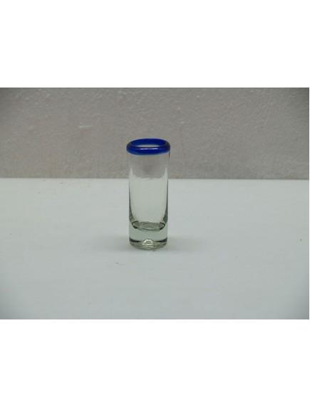 Tequilero Shoot Filo Cobalto (MÍNIMO 30 PZAS)