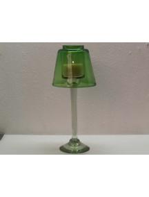 Lampara Veladora Grande Verde