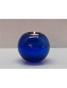 Portavela Esfera Mesa Cobalto