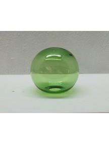 Esfera de Mesa 10 cm. Verde (MÍNIMO 50 PZAS)