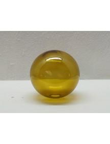 Esfera de Mesa 10 cm. Ambar (MÍNIMO 50 PZAS)