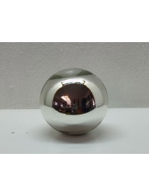Esfera de Mesa 25 cm. Plata
