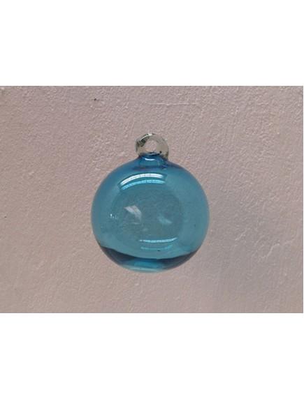 Esfera Asa 12 cm. Aguamarina (MÍNIMO 30 PZAS)