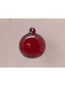Esfera Asa 12 cm. Roja (MÍNIMO 30 PZAS)