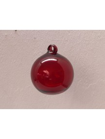 Esfera Asa 15 cm. Roja (MÌNIMO 30 PZAS)