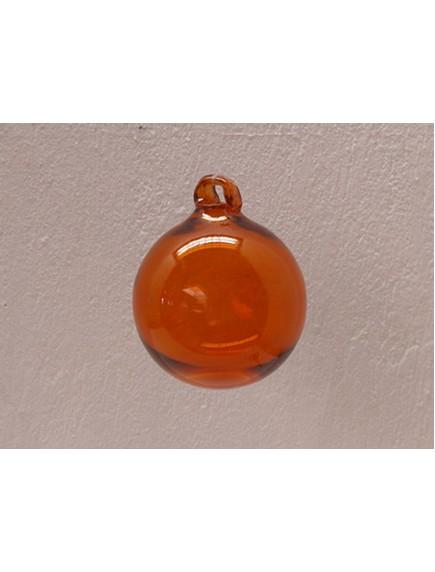Esfera Asa 10 cm. Naranja (MÍNIMO 50 PZAS)