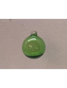 Esfera Asa 12 cm. Verde (MÍNIMO 30 PZAS)