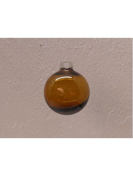 Esfera Asa 10 cm. Ambar (MÍNIMO 50 PZAS)