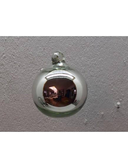 Esfera Asa 10 cm. Plata (MÍNIMO 50 PZAS)